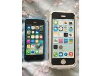 iPhone 5C 02 / Giffgaff / Tesco blue Excellent condition