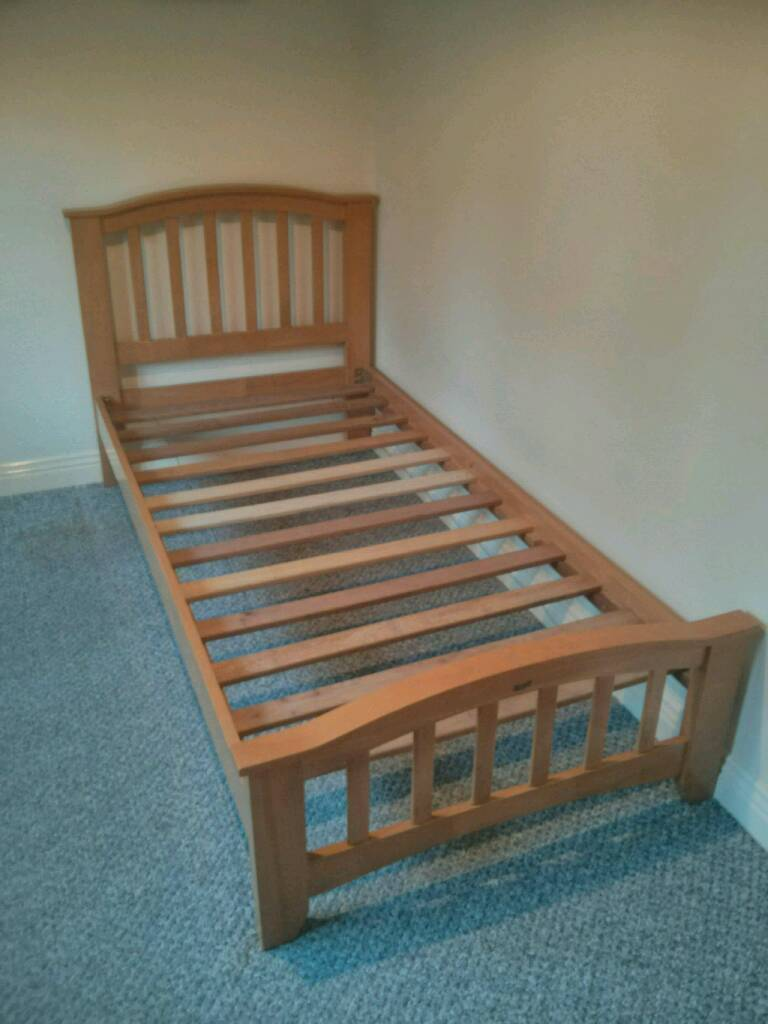 Single 3ft Joseph Elle wooden bedframe
