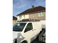 Roof rack and ladder vw T5 all aluminium
