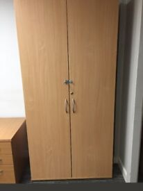 Office desks, pedestals, cupboards and chairs - prices in description