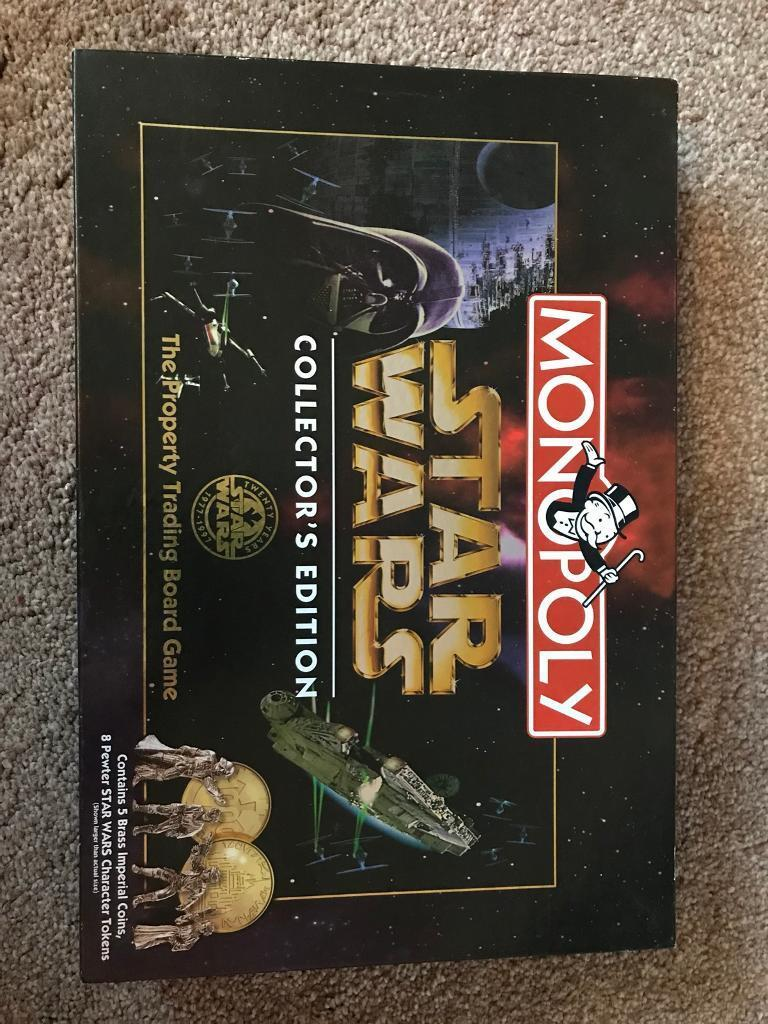 1997 Star Wars Limited Collector Edition Monopoly Board