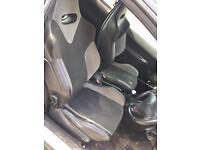 Peugeot 206 GTI 180 Seats
