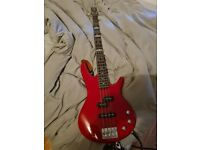 Ibanez bass and Ashdown Studio 12 amp