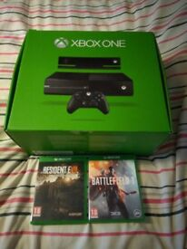Xbox One + Kinect + 2 Games