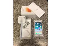 Apple iPhone 6s 64GB Rose Gold (Unlocked) Boxed with accessories (new condition) NO OFFERS!!