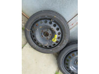 Vauxhall Astra spare wheel space saver will also fit Vectra
