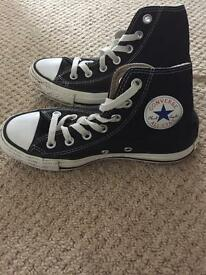 Genuine converse high tops