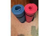 2 Pilates Mats for 5£