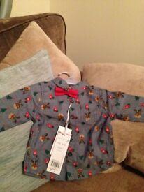 Christmas baby boys shirt