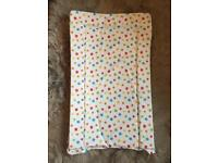 Baby changing mat 2 x