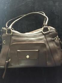 Leather tula bag new without tags