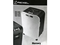 Rexel RDX1750 Paper Shredder