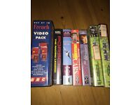 7 Factual VHS tapes, including Jeremy Clarkson and Porche