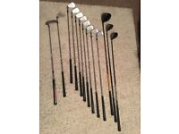 Used Mizuno MX 23 Golf Clubs and Bag For Sale