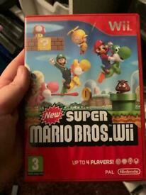 Super Mario bros Nintendo Wii game