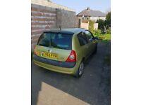 Renault clio dynamique 1.2 petrol