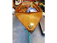 Rare Mermaid Dinghy (Similar to Mirror) with trailer