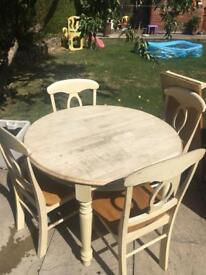 4 seater extended table for sale