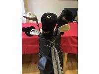 Full set of Regal Pro golf clubs