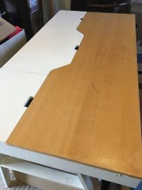 Large desk/work table/craft table. Perfect for drafting, sewing, crafting or working!