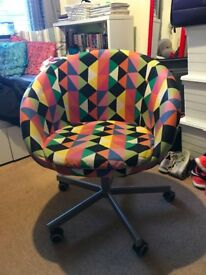 Multicolour Ikea Swivel Chair