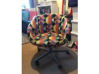 Multicolour Ikea Swivel Chair