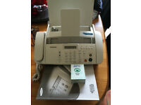 Samsung SF 340 - Fax / copier - B/W - ink-jet printer phone great condition with new spare cartridge