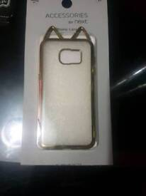 Samsung s7 gold phone csse
