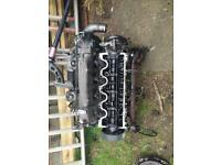 Vauxhall zafira head cilinder with injectors for sale  Harrow, London