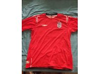 England official Replica Away shirt 2004-06 Large