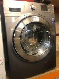 8KG GREY SAMSUNG WASHING MACHINE