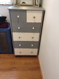 Funky chest of drawers.
