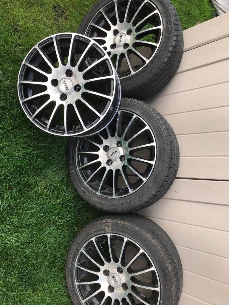 Peugeot 107 alloy wheels