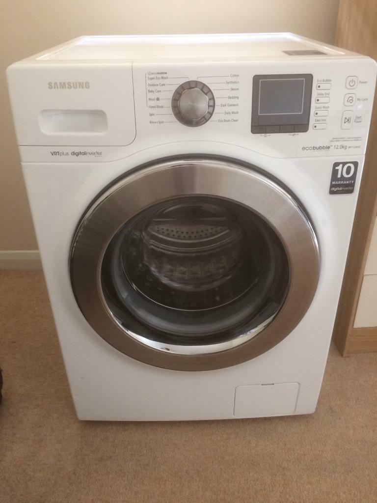 Samsung washing machine 12kg
