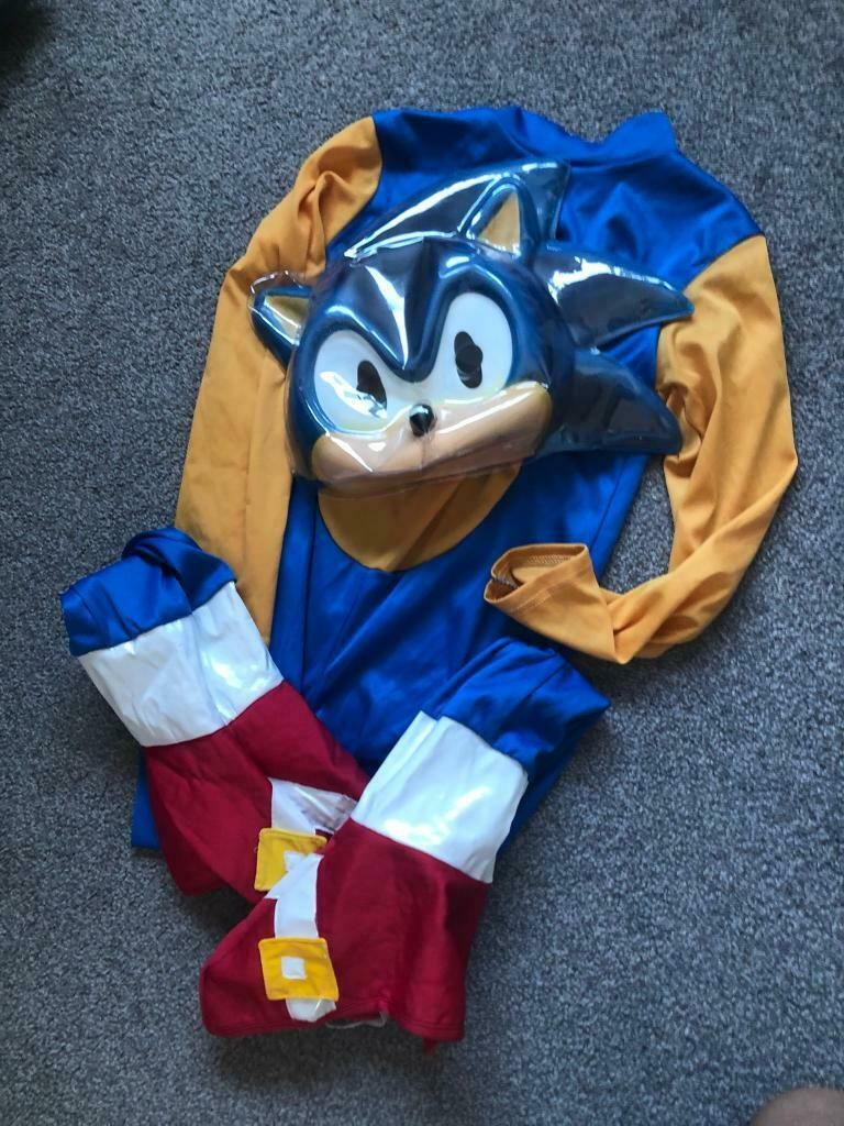 Sonic The Hedgehog Costume In Arnold Nottinghamshire Gumtree