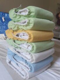 7 x Bumgenius V3 Reusable Cloth Nappies