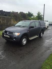 MITSUBISHI L200 2,5 DCI DOUBLECAB PICKUP##1 OWNER FROM NEW##