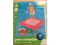 Early learning centre junior trampoline - pink & blue
