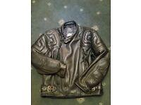 Gear Keprotec Schoeller Gents leather Jacket