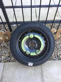 Steel space saver wheel