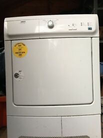 zanussi electrolux tumble dryer zdc46130w very good condition