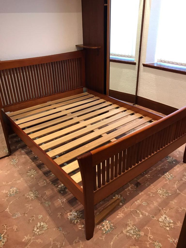 Solid Mahogany Bedroom Furniture Solid Mahogany 46 Bed Frame In Aberdeen Gumtree