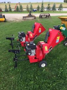 "***only 2 units left*** BLOW OUT SALE on USED 3"" Wallenstein Wood Chippers"