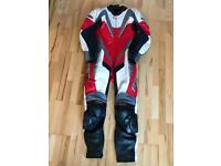 All in one leather RST bike suit