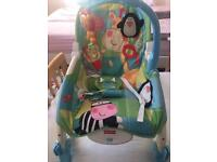 Fisher Price rocking and vibrating chair
