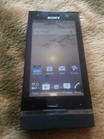 Sony Xperia U - 8GB - Black (o2) Smartphone