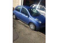 Nissan Micra S 1.2 12 Months M.O.T Good Condition for its age Low Mileage Only 82,000 Bargain £795