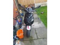 Speedfight 2 registered 50cc but 125cc