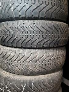 195/65/15 Used winter Goodyear tires