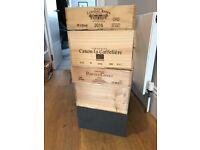 Wine box, storage